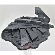 Battle For Macragge Crashed Imperial Aquila Shuttle Terrain 2-piece